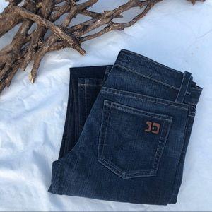 NWOT Joe's Jeans Dark Indigo Straight Leg 27 x 34